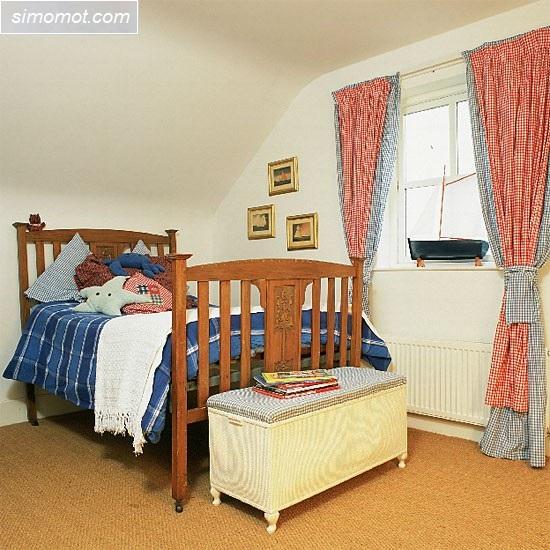 desain kamar tidur anak ukuran kecil 3 si momot