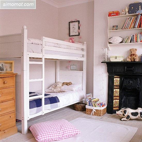 desain kamar tidur anak ukuran kecil 6 si momot