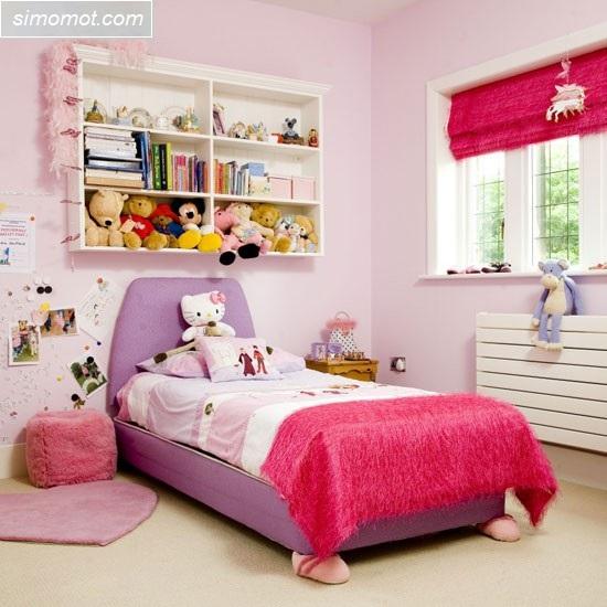 gambar desain interior kamar tidur anak rumah minimalis