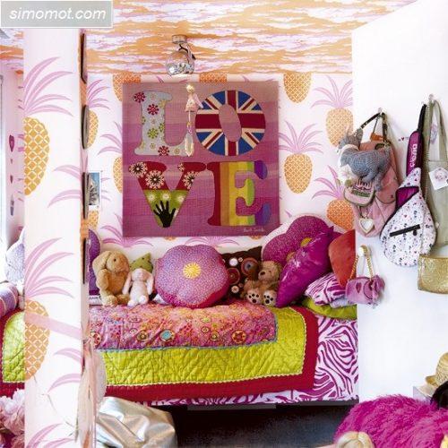 gambar desain kamar tidur anak ukuran kecil 10