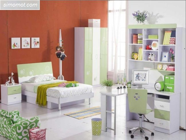gambar desain kamar tidur anak ukuran kecil 12 si momot