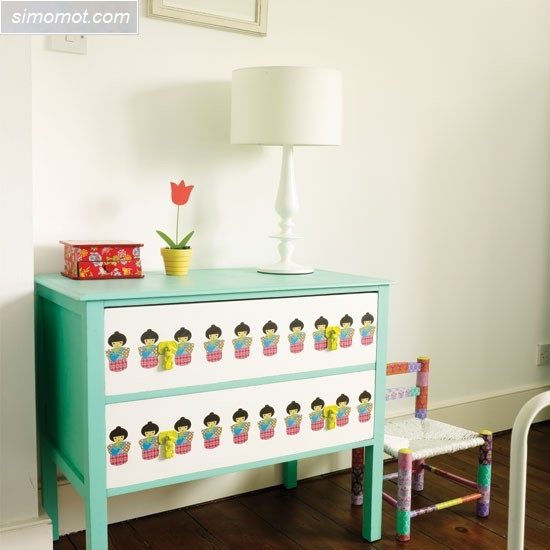 gambar desain kamar tidur anak ukuran kecil 5 si momot