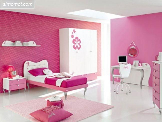 gambar desain kamar tidur remaja rumah minimalis 2 si