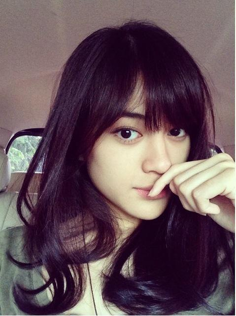 ini 5 foto selfie wanita tercantik indonesia di twitter