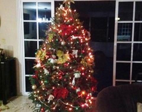 foto contoh desain dan dekorasi pohon natal (103)