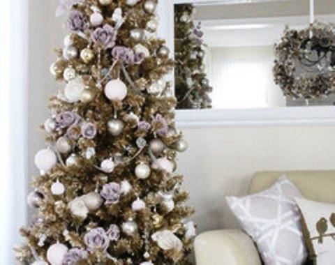 foto contoh desain dan dekorasi pohon natal (105)