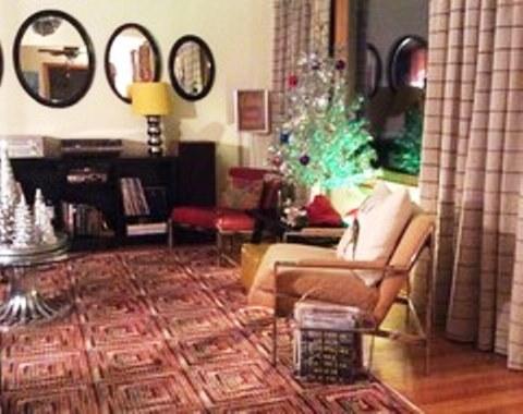 foto contoh desain dan dekorasi pohon natal (110)