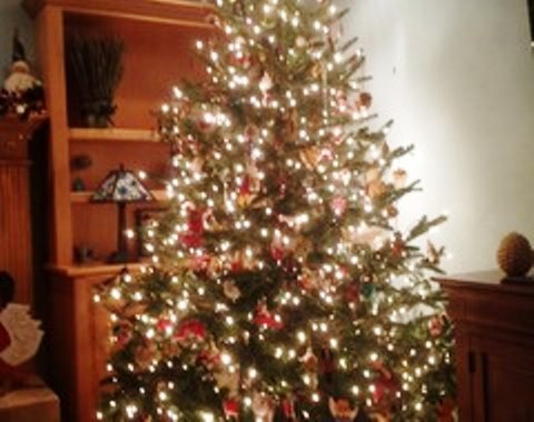 foto contoh desain dan dekorasi pohon natal (149)