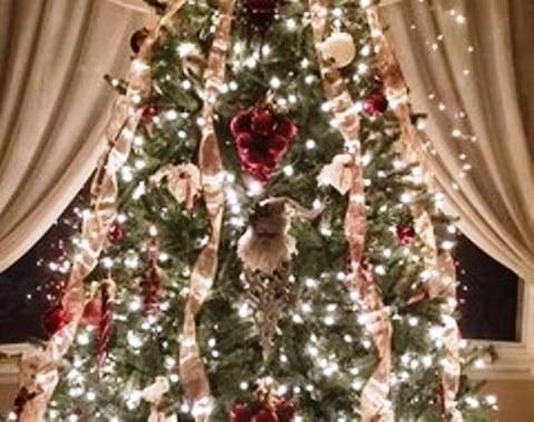 foto contoh desain dan dekorasi pohon natal (175)