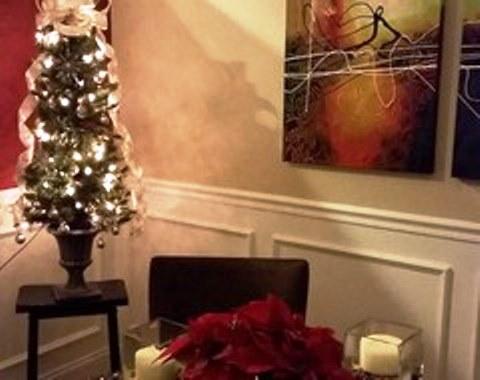 foto contoh desain dan dekorasi pohon natal (25)