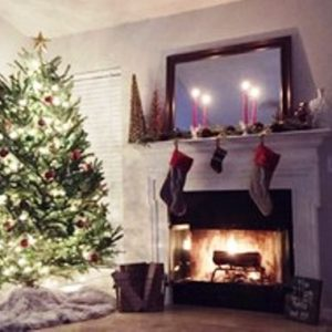 foto contoh desain dan dekorasi pohon natal (6)