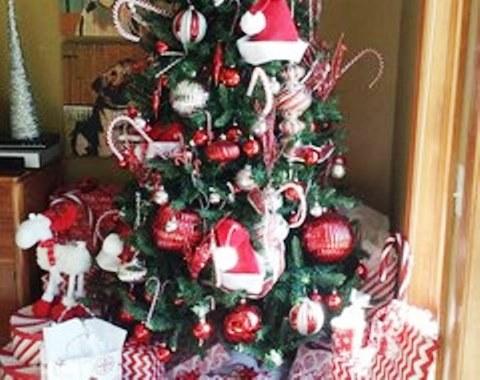 foto contoh desain dan dekorasi pohon natal (62)