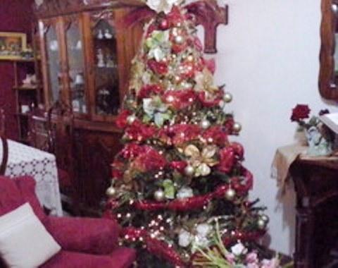 foto contoh desain dan dekorasi pohon natal (63)