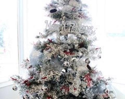 foto contoh desain dan dekorasi pohon natal (78)