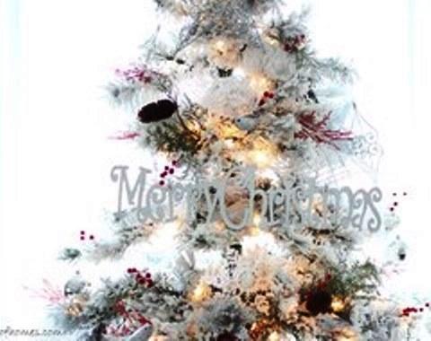 foto contoh desain dan dekorasi pohon natal (79)