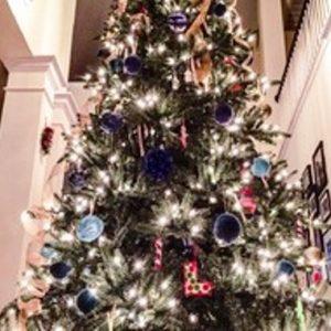 foto contoh desain dan dekorasi pohon natal (83)