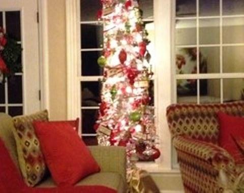 foto contoh desain dan dekorasi pohon natal (88)