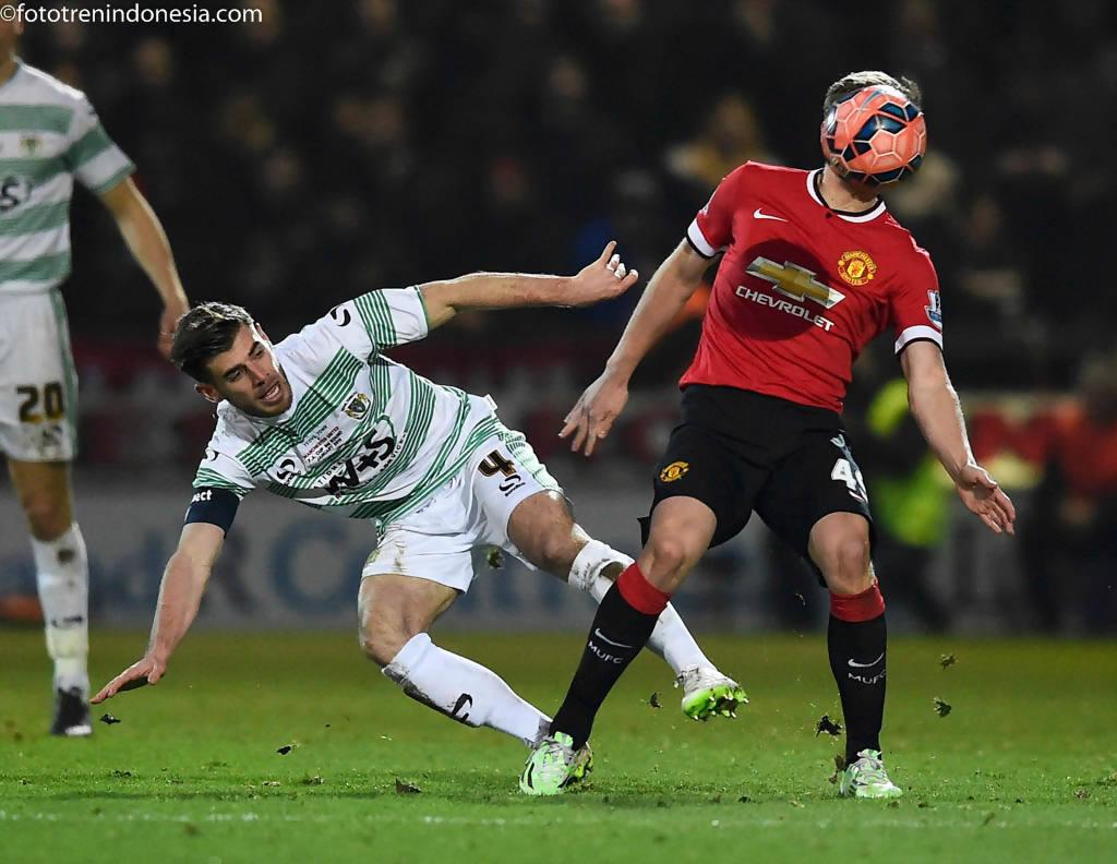 Manchester United Menang Atas Yeovil