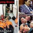 Meme anggota Basarnas dan DPR, kerja kerja kerja, tidur tidur tidur
