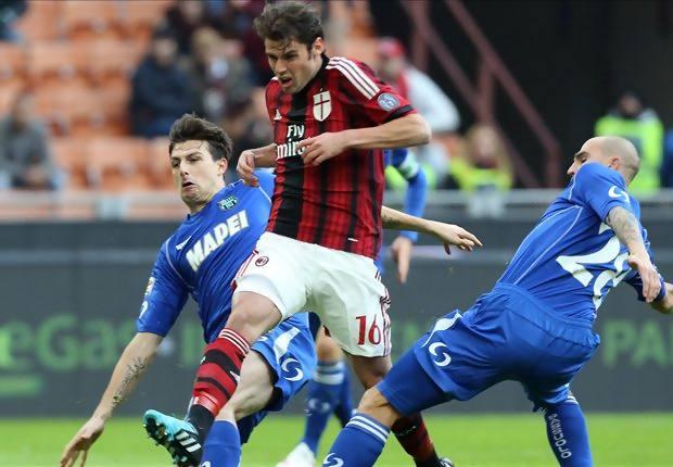 Hasil pertandingan Liga Italia 2014 AC Milan vs Sassuolo, Rossoneri takluk di kandang sendiri