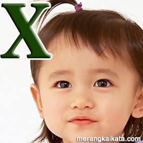 Nama bayi unik awalan huruf X