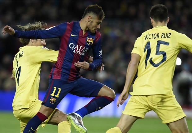 Hasil pertandingan Liga Spanyol 2015 Barcelona vs ...