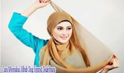 Tutorial Hijab Segi Empat Terbaru4