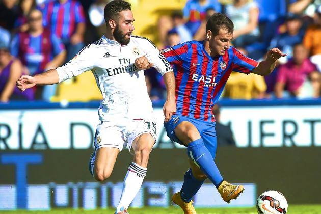 Liga Spanyol Real Madrid Vs Levante
