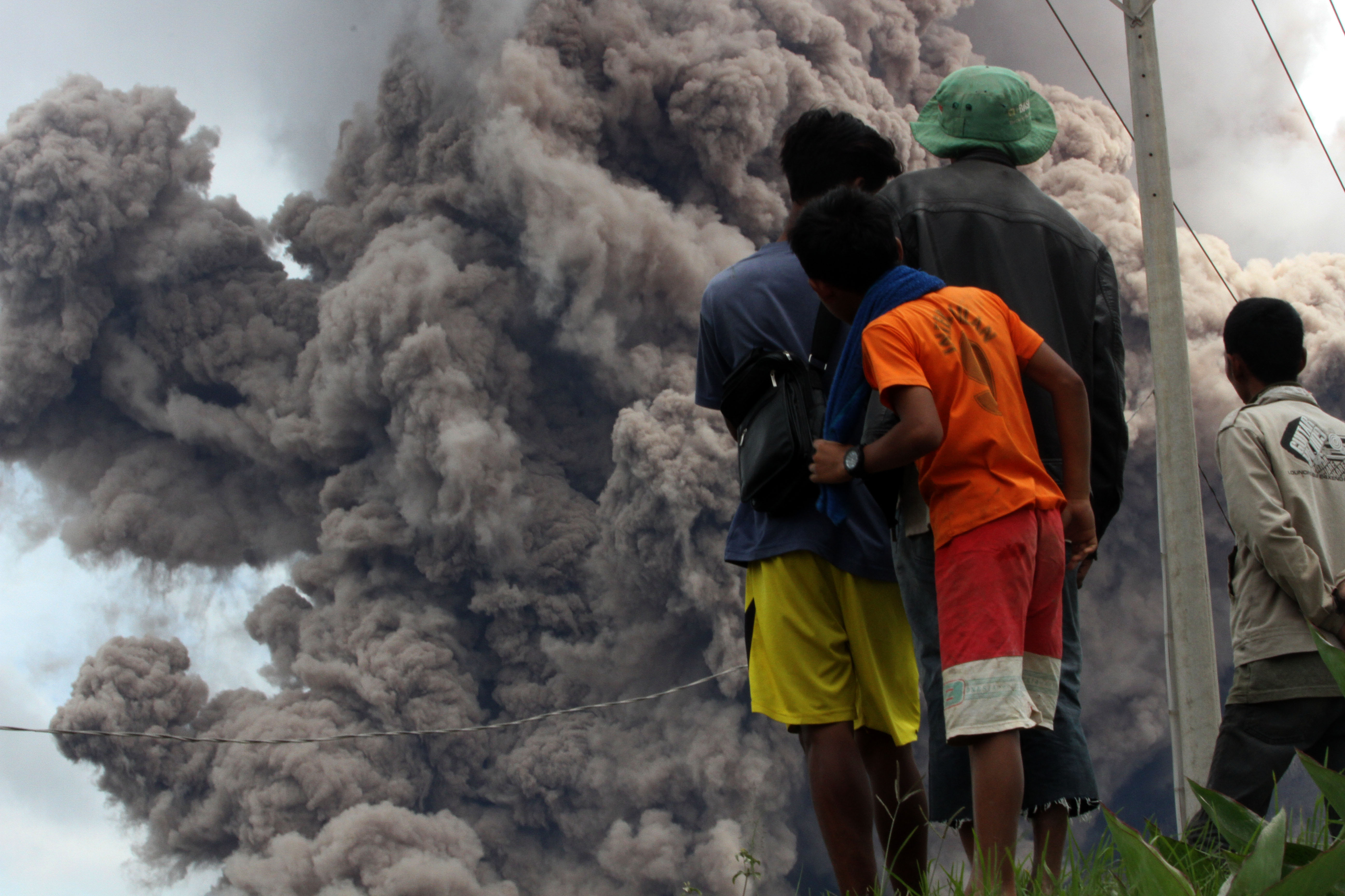 Nekad Berladang 3 Warga Tewas Terkena Awan Panas Gunung Sinabung