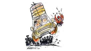 Kartun hari ini simomot 14 Juli 2015