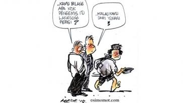 Kartun hari ini simomot 6 Juli 2015