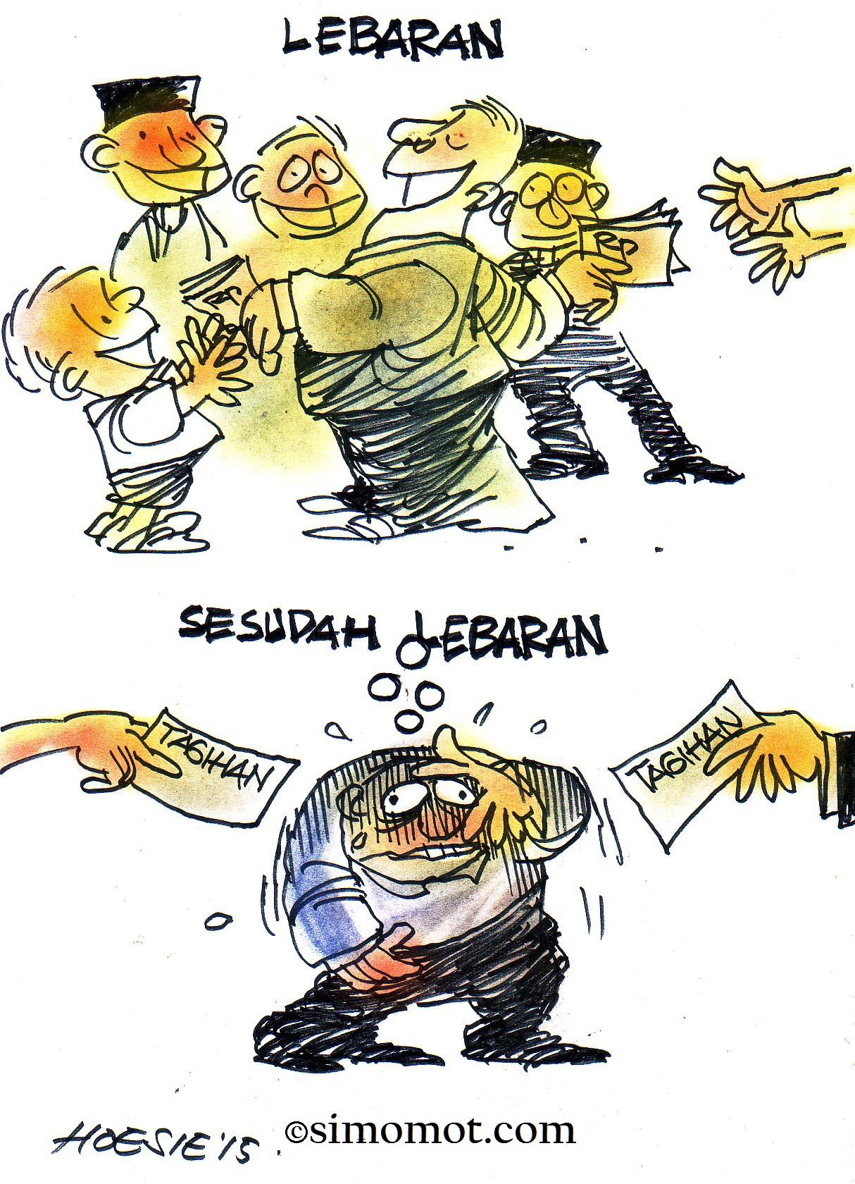 Lebaran Royal Pasca Lebaran Ngalir Tagihan Kartun Hari Ini