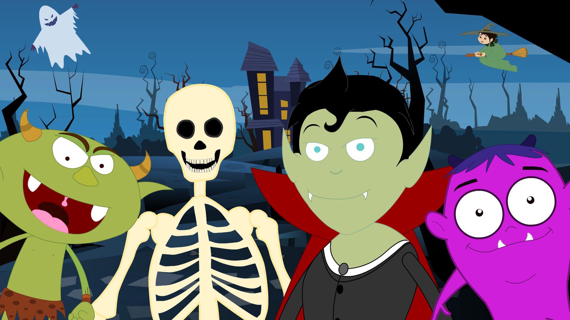 Kumpulan DP BBM Gambar Dan Animasi Halloween SI MOMOT