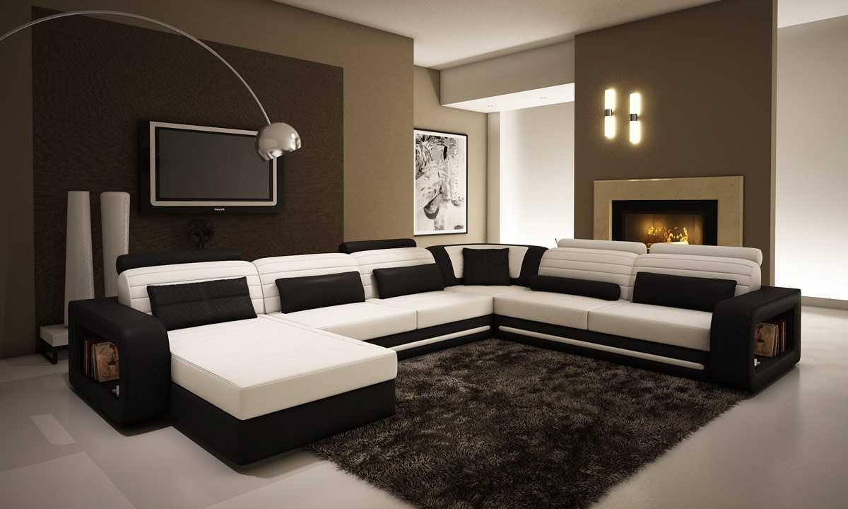 Model Kursi Sofa U Untuk Ruang Tamu Kecil Sederhana
