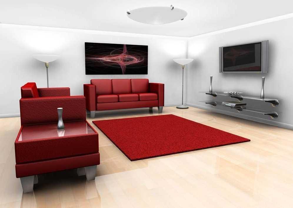 27+ Ide Warna Cat Ruang Tamu Sofa Merah, Warna Cat
