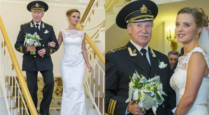Kakek Kakek menikahi dedaunan muda