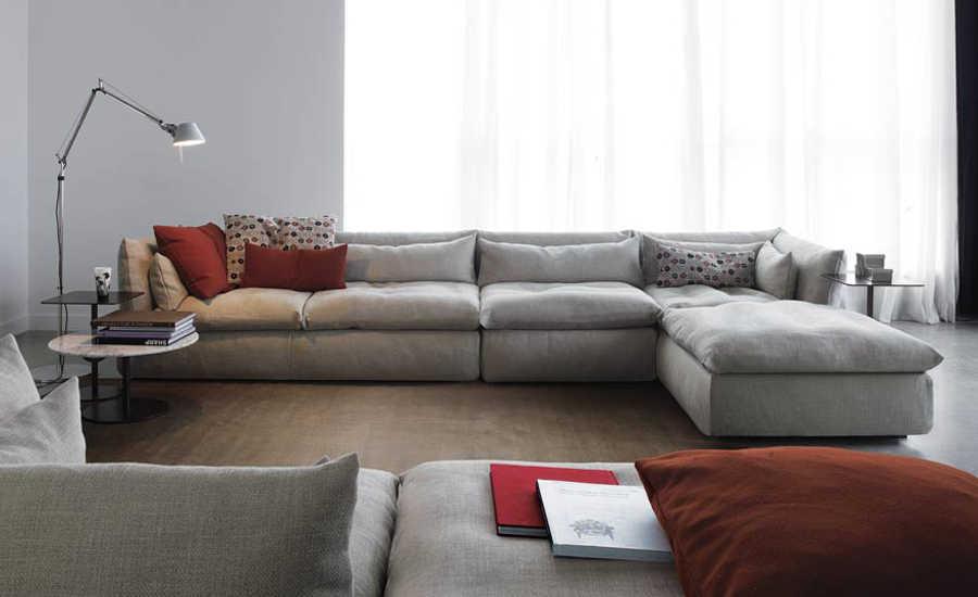 Bentuk Sofa L Untuk Ruang Tamu