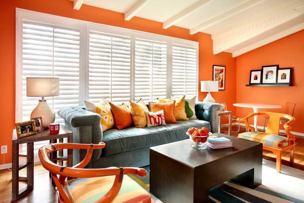 1000+ Contoh Gambar Rumah Cat Orange Terbaik