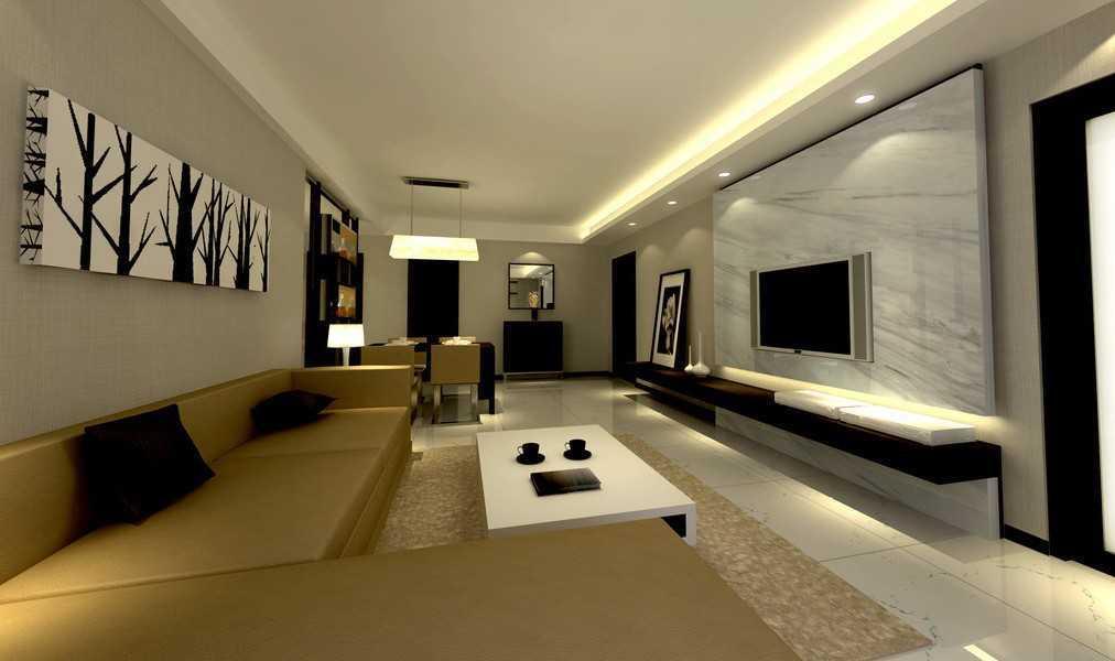 contoh gambar lampu hias ruang tamu