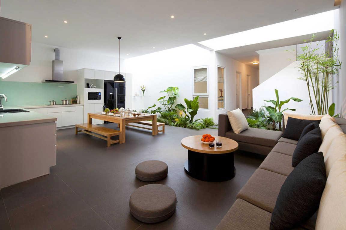 Desain Taman Hias Dalam Rumah