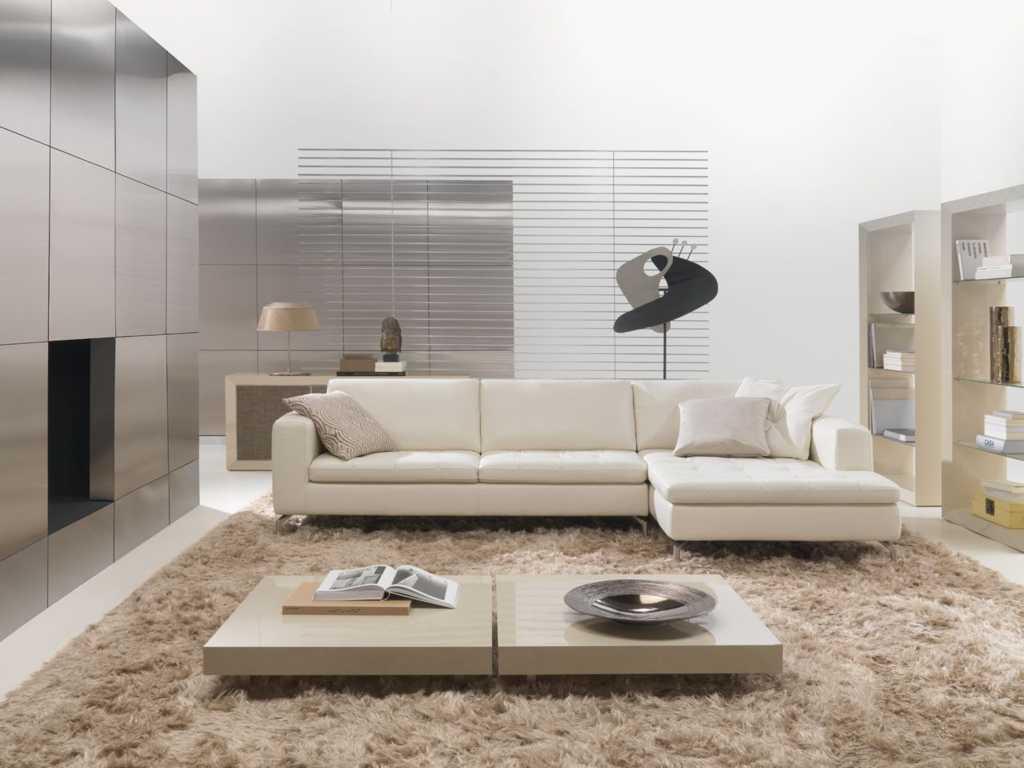 design sofa ruang tamu minimalis tampak luas