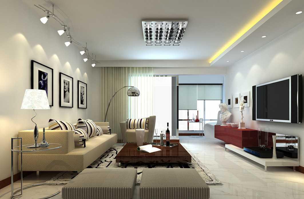 lampu hias ruang tamu kecil