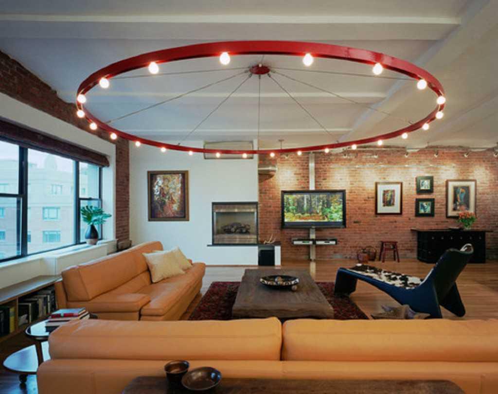 model lampu hias ruang tamu minimalis