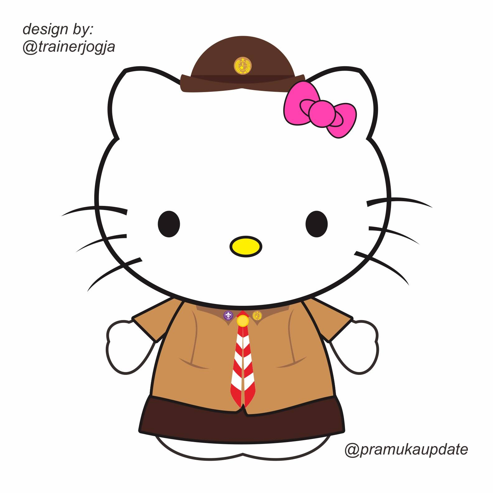 Gambar Animasi Dp Bbm Hello Kitty Terlengkap Display Picture Lucu