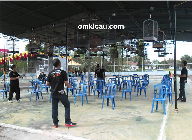 Launching POBC Kayu Agung OKI-kelas kacer