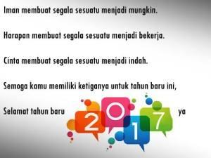 Kata Mutiara Harapan Tahun Baru