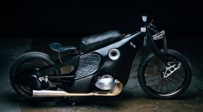 Fotofoto lengkap modifikasi sepeda motor paling keren   SI MOMOT