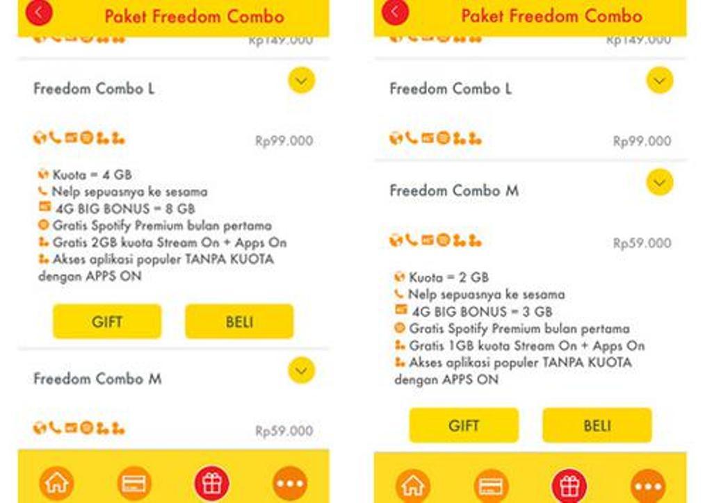 Perbandingan Lengkap Tarif Paket Internet Telkomsel Xl Dan Indosat