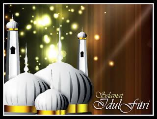 Kumpulan Gambar Animasi Bergerak Ucapan Selamat Idul Fitri 1438 H Malam Takbiran Dan Mudik Simomot