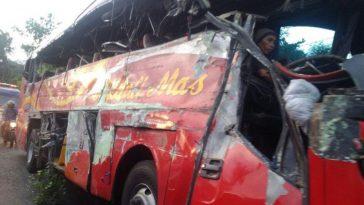 kecelakaan Bus Medali Mas di probolinggo